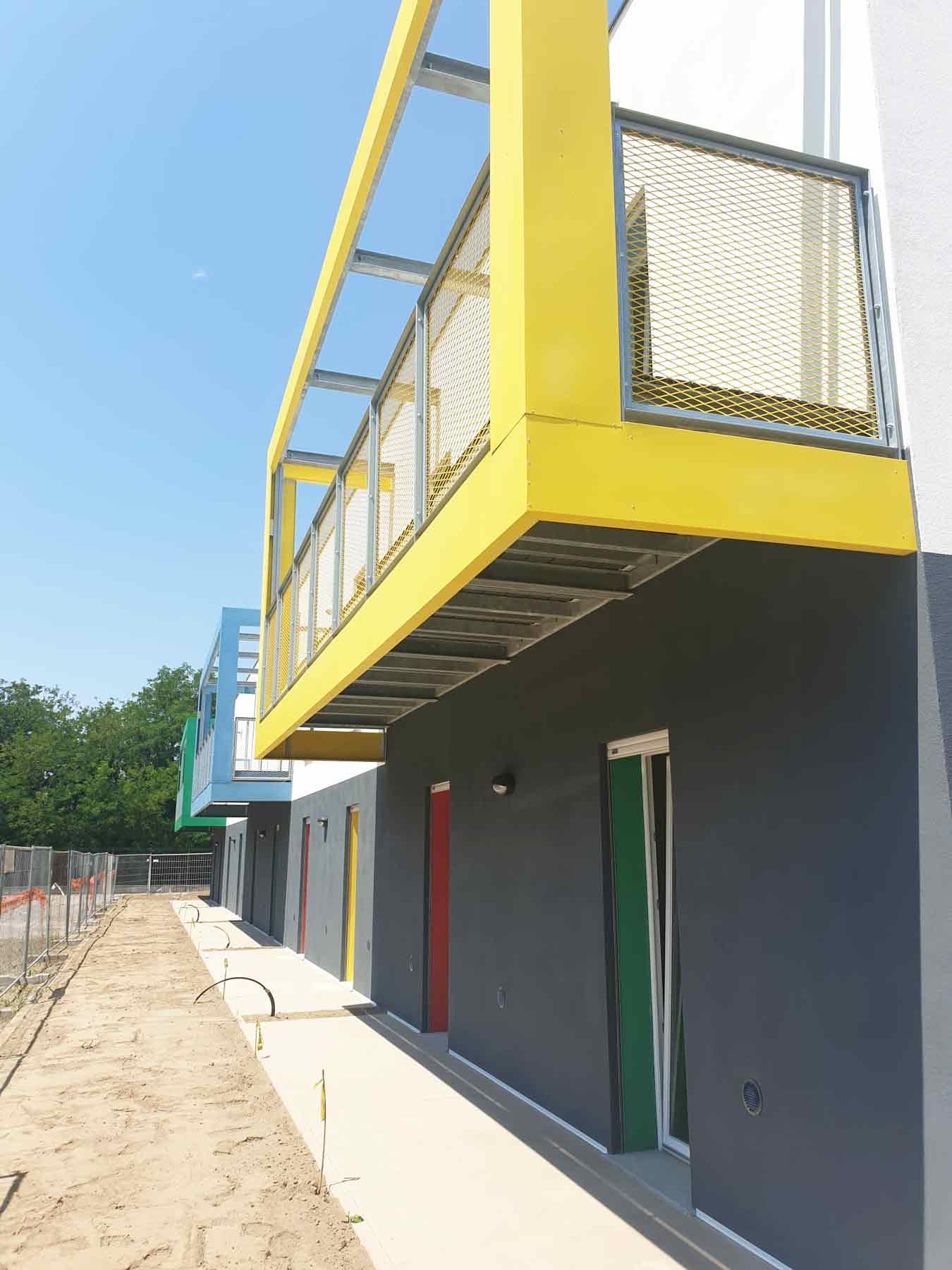 Student facade